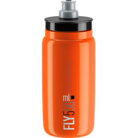 Elite Fly Drinking Bottle 0.5 l, orange/black logo